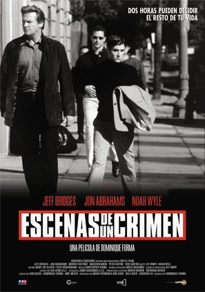 Scenes of the Crime - Spanish Movie Poster (thumbnail)