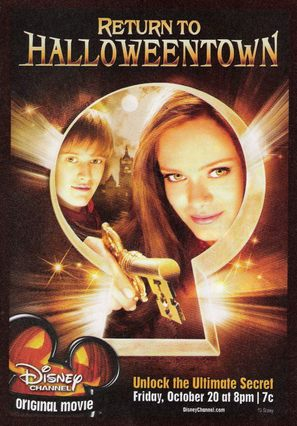 Return to Halloweentown - Movie Poster (thumbnail)