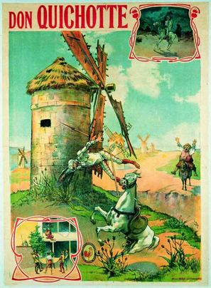Don Quichotte - French Movie Poster (thumbnail)