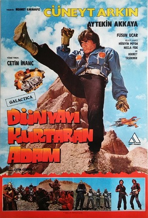 Dünyayi kurtaran adam - Turkish Movie Poster (thumbnail)