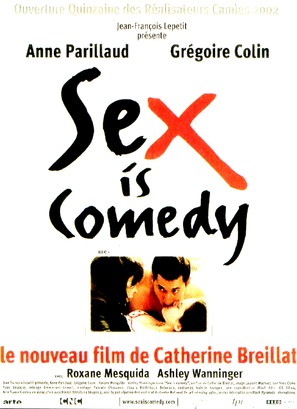 Sex Is Comedy - French Movie Poster (thumbnail)