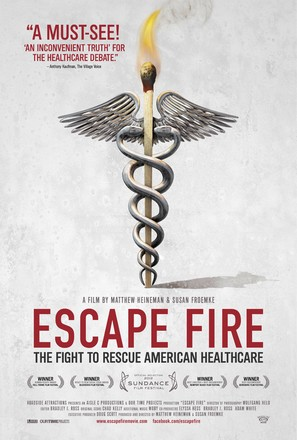 Escape Fire: The Fight to Rescue American Healthcare - Movie Poster (thumbnail)