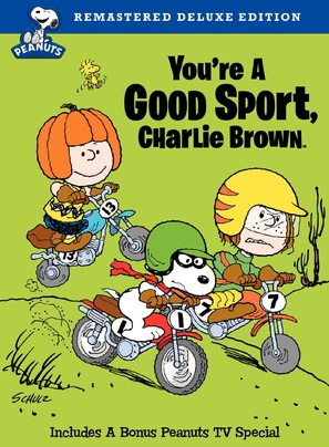 You're a Good Sport, Charlie Brown - DVD cover (thumbnail)