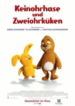 Keinohrhase und Zweiohrküken - German Movie Poster (thumbnail)