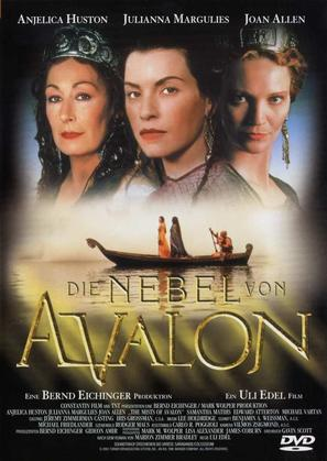 """The Mists of Avalon"" - German DVD movie cover (thumbnail)"