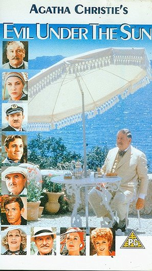 The Making of Agatha Christie's 'Evil Under the Sun' - British Movie Poster (thumbnail)
