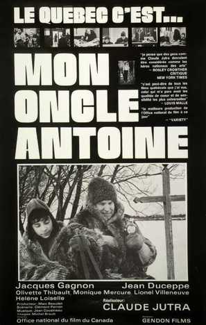 Mon oncle Antoine - Canadian Movie Poster (thumbnail)