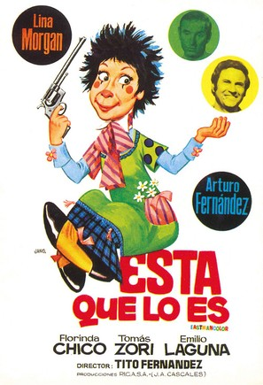 Ésta que lo es... - Spanish Movie Poster (thumbnail)