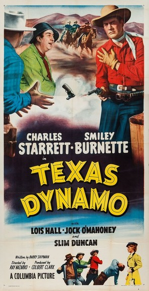 Texas Dynamo - Movie Poster (thumbnail)
