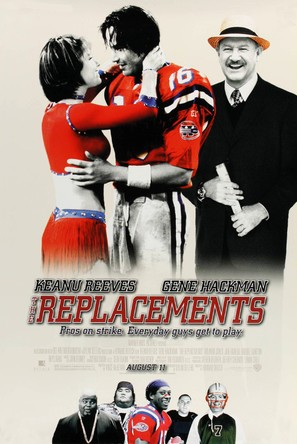 The Replacements - Movie Poster (thumbnail)
