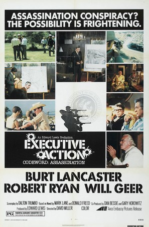 Executive Action - Movie Poster (thumbnail)