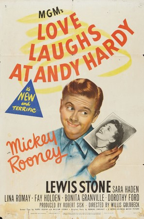 Love Laughs at Andy Hardy - Movie Poster (thumbnail)