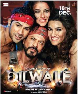 Dilwale - Indian Movie Poster (thumbnail)