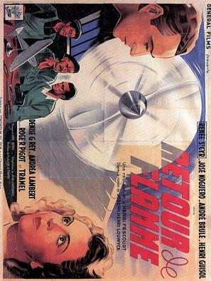 Retour de flamme - French Movie Poster (thumbnail)