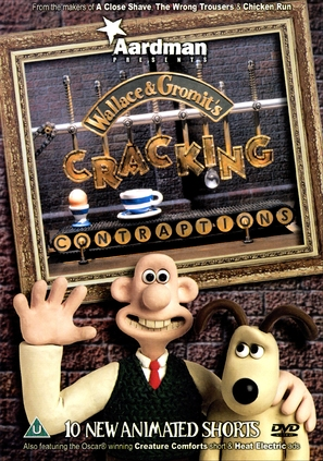 Wallace & Gromit's Cracking Contraptions - British DVD movie cover (thumbnail)