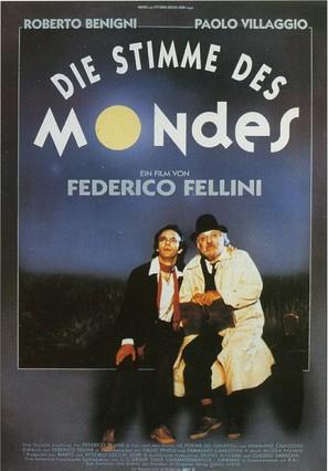 Voce della luna, La - German Movie Poster (thumbnail)