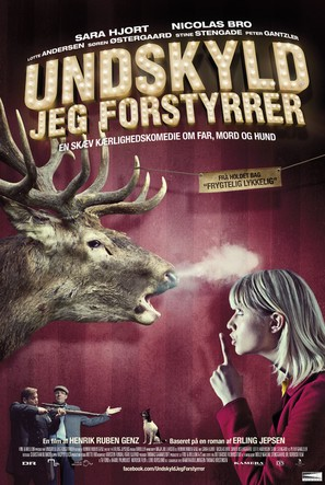 Undskyld jeg forstyrrer - Danish Movie Poster (thumbnail)