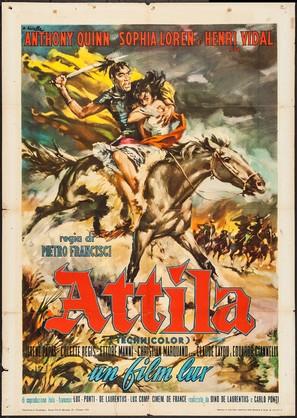 Attila - Italian Movie Poster (thumbnail)