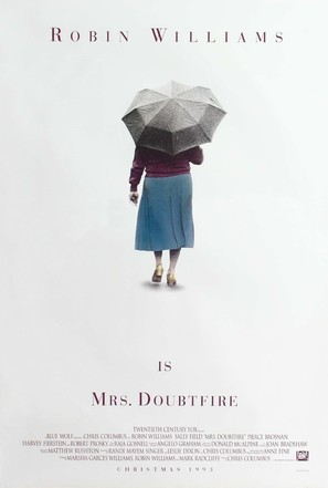 Mrs. Doubtfire - Movie Poster (thumbnail)