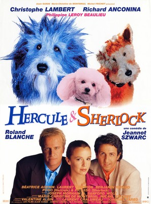 Hercule et Sherlock - French Movie Poster (thumbnail)
