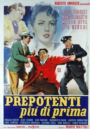 Prepotenti più di prima - Italian Movie Poster (thumbnail)