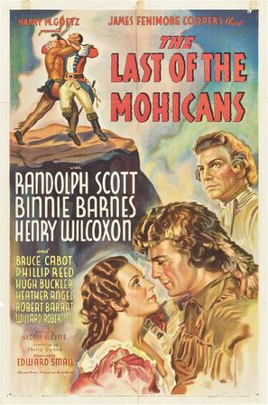 the last of the mohicans 1936 movie posters