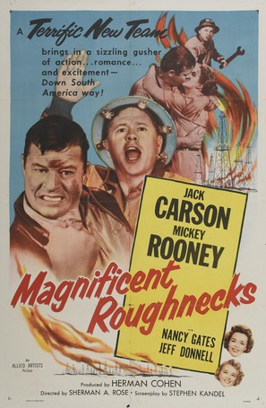 Magnificent Roughnecks - Movie Poster (thumbnail)