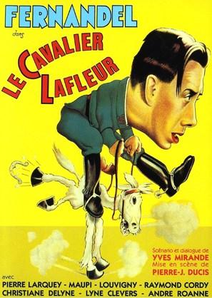 Le cavalier Lafleur - French Movie Poster (thumbnail)