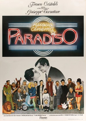Nuovo cinema Paradiso - Italian Movie Poster (thumbnail)