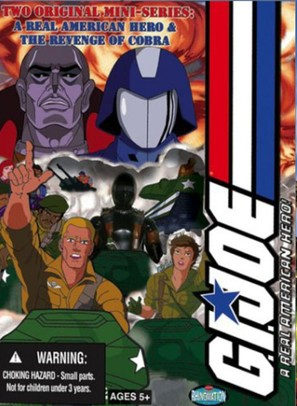 """G.I. Joe: A Real American Hero"" - DVD movie cover (thumbnail)"