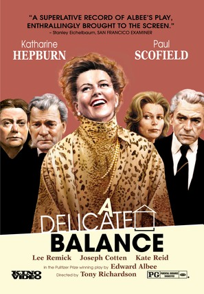 A Delicate Balance - DVD movie cover (thumbnail)