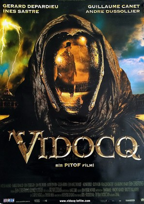 Vidocq - Turkish Movie Poster (thumbnail)