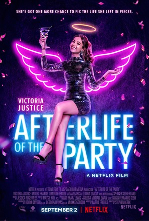 Afterlife of the Party - Movie Poster (thumbnail)