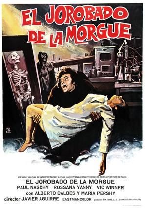 El jorobado de la Morgue - Spanish Movie Poster (thumbnail)