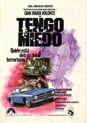 Io ho paura - Spanish Movie Poster (thumbnail)