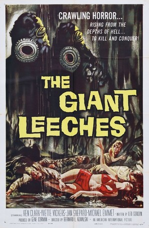 Attack of the Giant Leeches - Movie Poster (thumbnail)