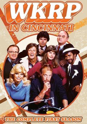 """WKRP in Cincinnati"" - DVD movie cover (thumbnail)"