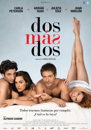 Dos más dos - Argentinian Movie Poster (thumbnail)