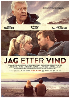 Jag etter vind - Norwegian Movie Poster (thumbnail)