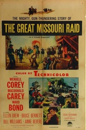 The Great Missouri Raid - Movie Poster (thumbnail)