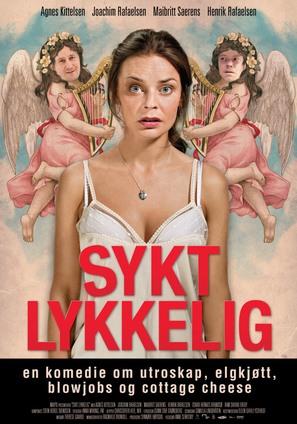 Sykt lykkelig - Norwegian Movie Poster (thumbnail)