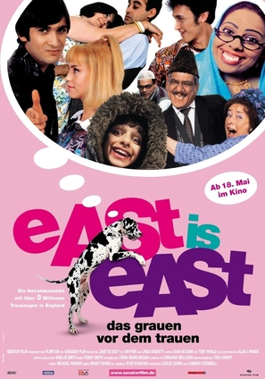 East Is East - German Movie Poster (thumbnail)