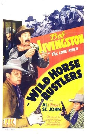 Wild Horse Rustlers - Movie Poster (thumbnail)