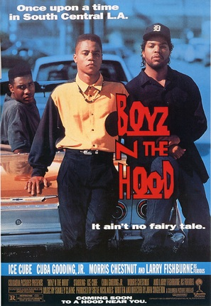 Boyz N The Hood - Movie Poster (thumbnail)
