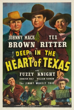 Deep in the Heart of Texas - Movie Poster (thumbnail)
