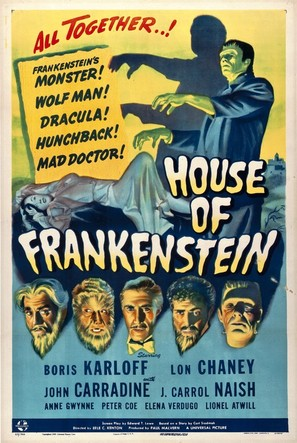 House of Frankenstein - Theatrical movie poster (thumbnail)