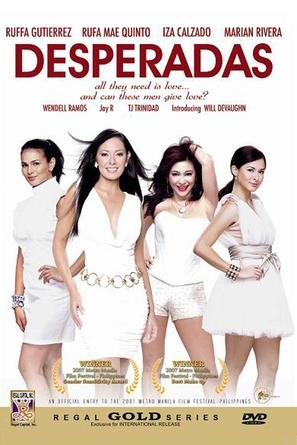 Desperadas - Philippine DVD cover (thumbnail)