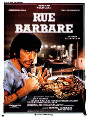 Rue barbare - French Movie Poster (thumbnail)