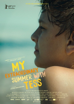 My Extraordinary Summer with Tess - Dutch Movie Poster (thumbnail)