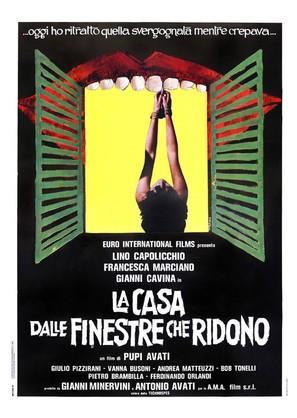 La casa dalle finestre che ridono - Italian Movie Poster (thumbnail)